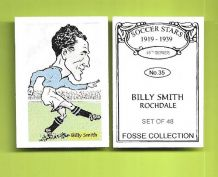 Rochdale Billy Smith 35 (FC)